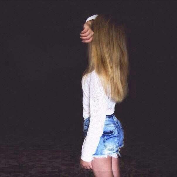 Романтичные фото девушек без лица (8)