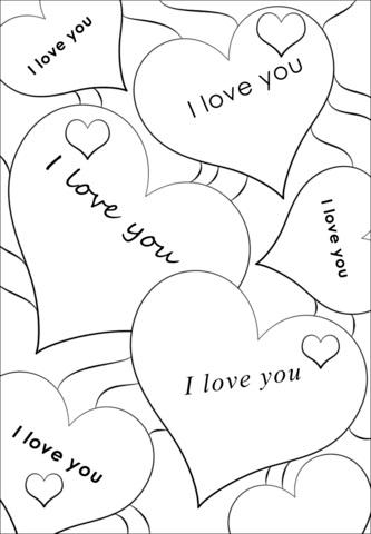 Я тебя люблю   распечатать надпись, картинки (13)