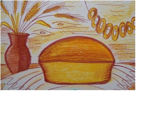 Картинки хлеб для детей нарисованные (1)