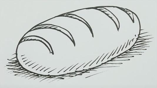 Картинки хлеб для детей нарисованные (11)