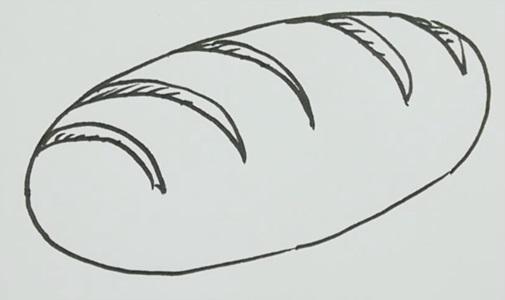 Картинки хлеб для детей нарисованные (14)