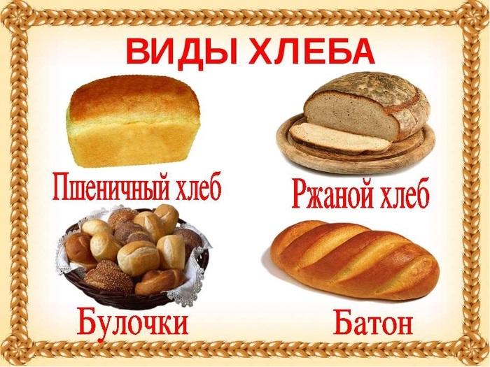 Картинки хлеб для детей нарисованные (17)