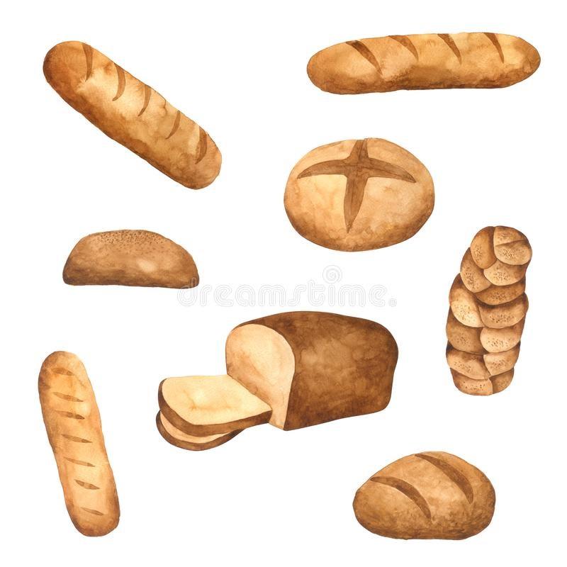 Картинки хлеб для детей нарисованные (22)