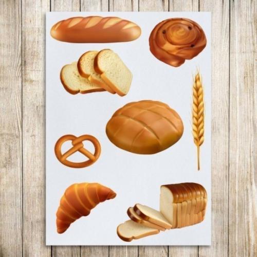 Картинки хлеб для детей нарисованные (24)