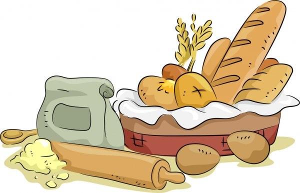 Картинки хлеб для детей нарисованные (3)