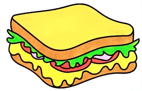 Картинки хлеб для детей нарисованные (4)