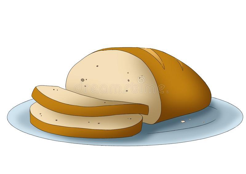 Картинки хлеб для детей нарисованные (6)