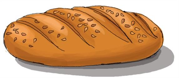 Картинки хлеб для детей нарисованные (8)