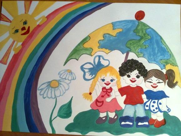 Идеи в картинках для детей дружба народов (10)
