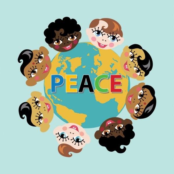 Идеи в картинках для детей дружба народов (12)