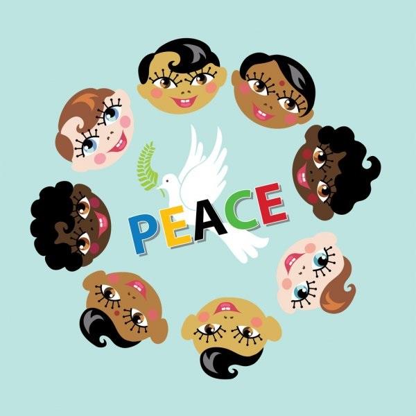 Идеи в картинках для детей дружба народов (13)