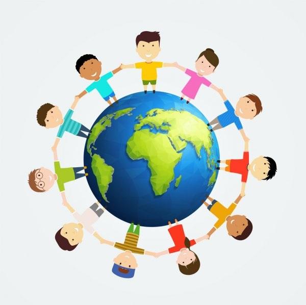 Идеи в картинках для детей дружба народов (15)