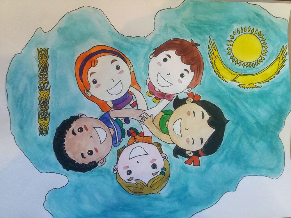 Идеи в картинках для детей дружба народов (18)