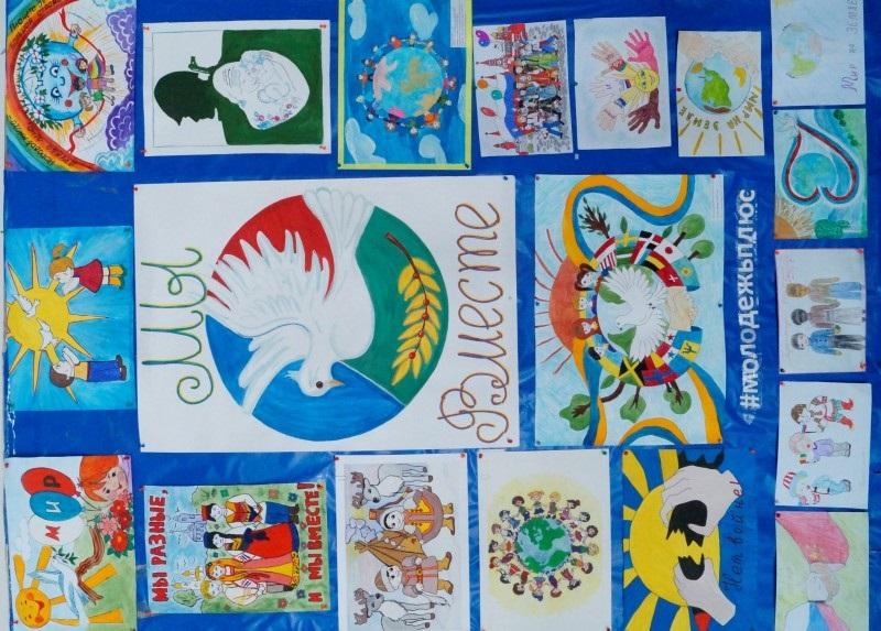 Идеи в картинках для детей дружба народов (19)