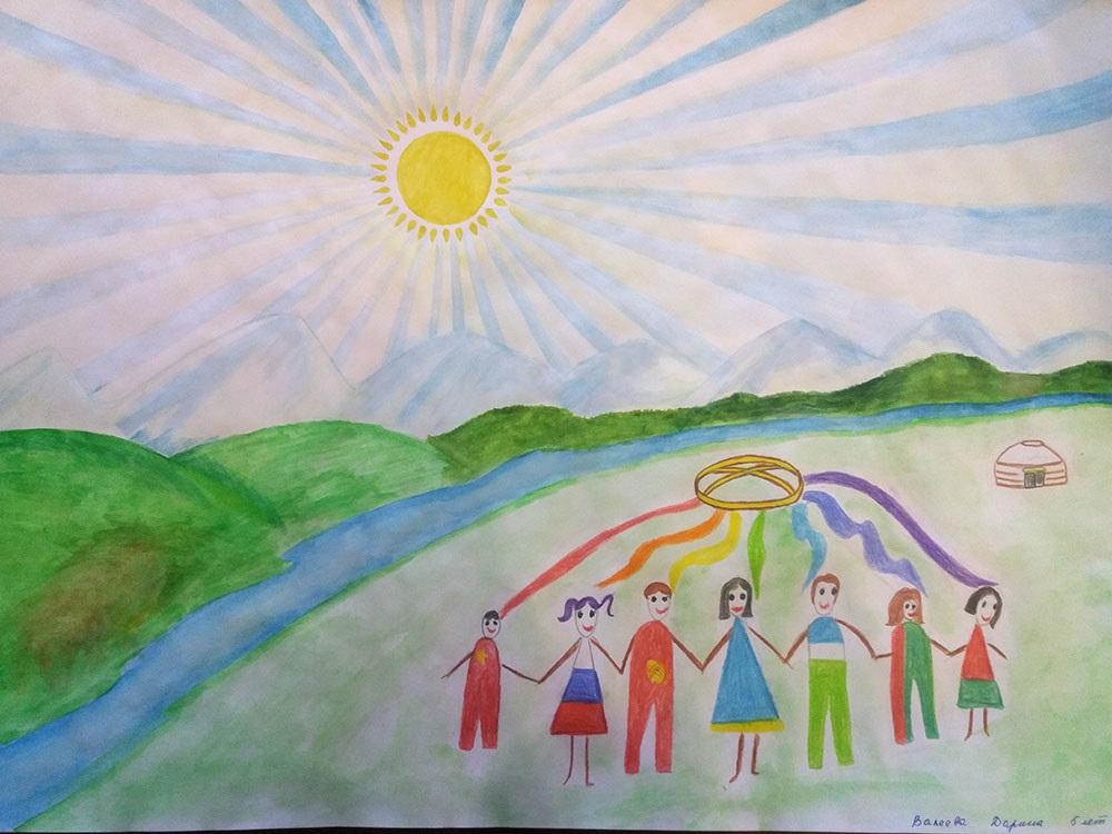 Идеи в картинках для детей дружба народов (3)