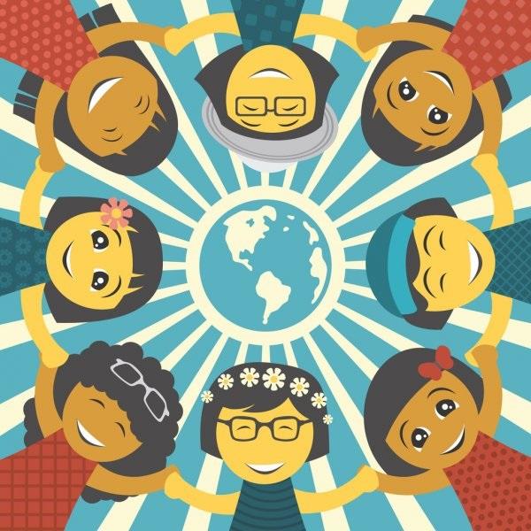 Идеи в картинках для детей дружба народов (5)