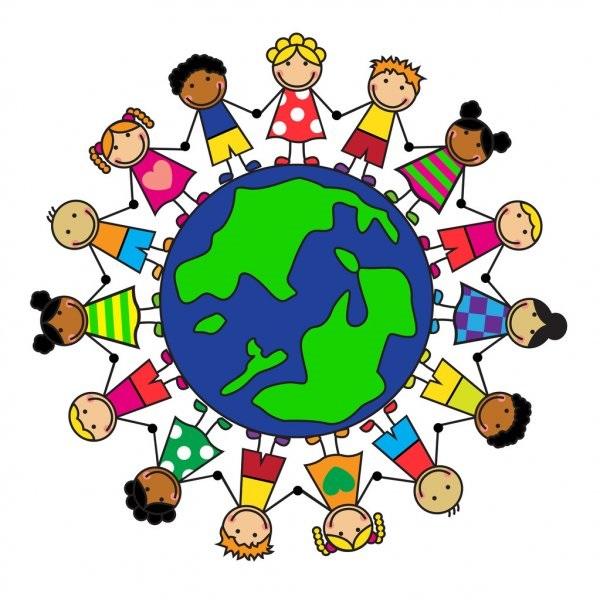 Идеи в картинках для детей дружба народов (8)