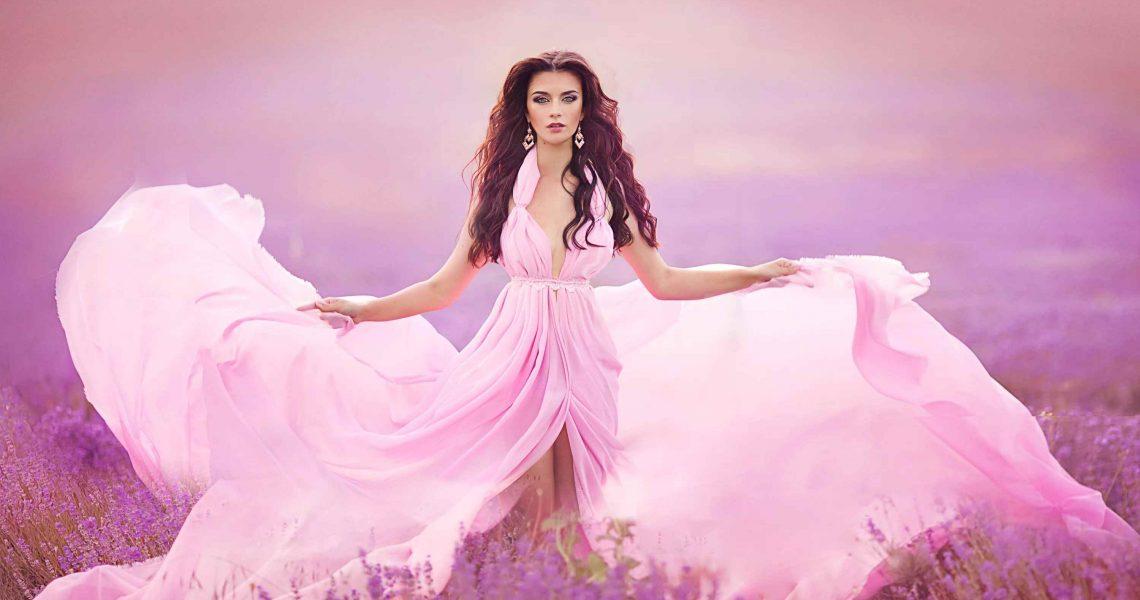 Очень красивые картинки девочки в платье 19