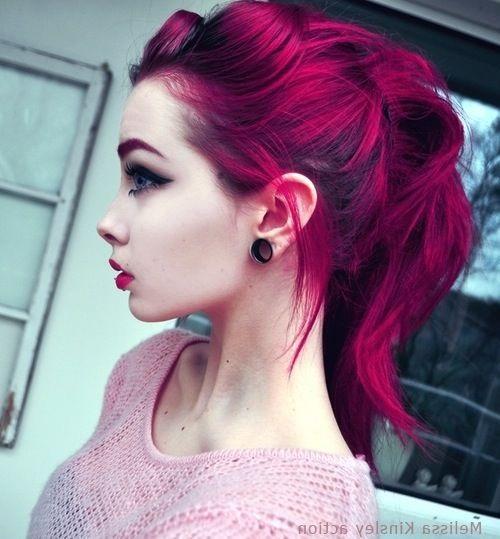 Самые милые картинки девушки с розовыми волосами (23)