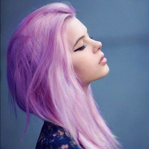 Самые милые картинки девушки с розовыми волосами (27)