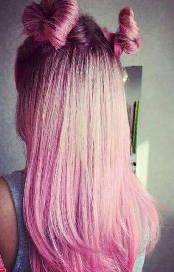 Самые милые картинки девушки с розовыми волосами (28)